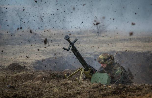 """У бою в Авдіївській промзоні окупанти втратили трьох бойовиків і """"подарували"""" українцям крупнокаліберний російський кулемет"""
