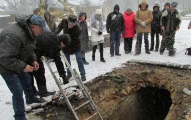 У Рівному знайдено підземні ходи. На цеглі стін – королівські клейма  XVII-ХVIII століття…