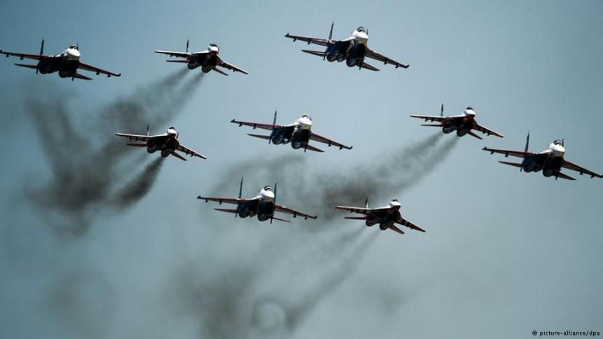 Винищувачі ВПС України тренуються за будь-якої погоди