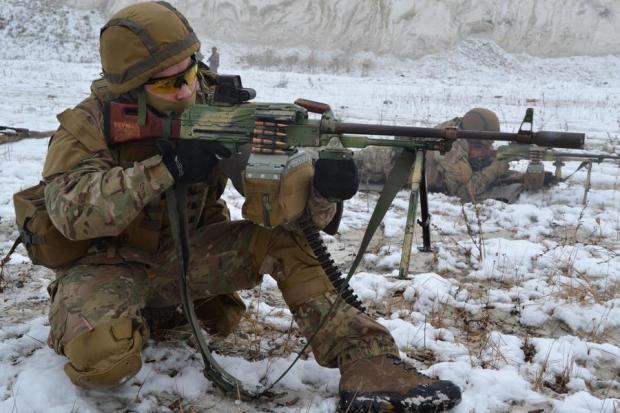 Українці викинули бойовиків, які невдало атакували на Світлодарській дузі, з їхніх позицій