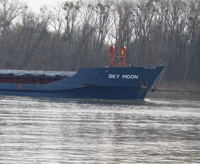 Українські прикордонники затримали корабель з сирійцями, який заходив до окупованого Криму