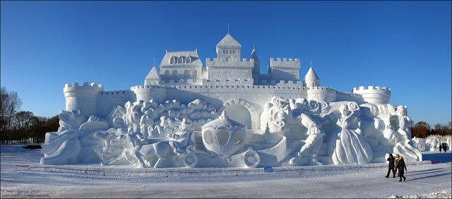 Студенти з України стали призерами Міжнародного конкурсу снігової скульптури в китайському Харбіні