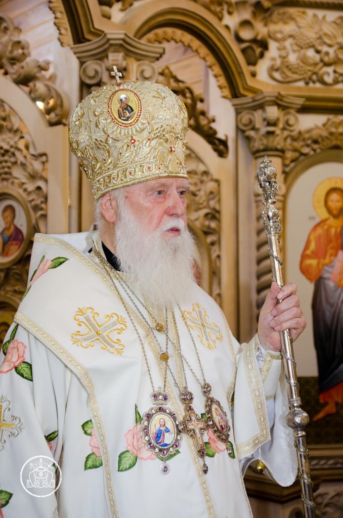 Патріарху Філарету виповнилося 88 років
