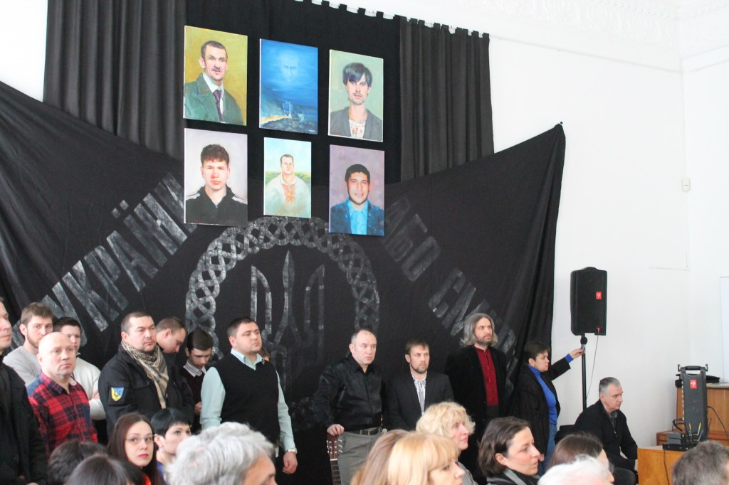 У Черкасах стартував соціально-мистецький проект, присвячений третій річниці Майдану