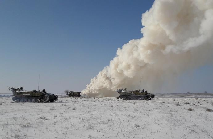 ЗСУ провели чергові ракетні навчання на межі з окупованим Кримом