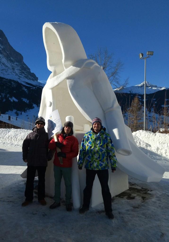 Українці перемогли на фестивалі снігової скульптури в Швейцарії