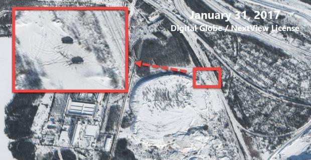 """""""Привет с Гааги"""": группа расследований Bellingcat опубликовала спутниковые снимки позиций пророссийских сепаратистов, с которых ведется уничтожение Авдеевки"""