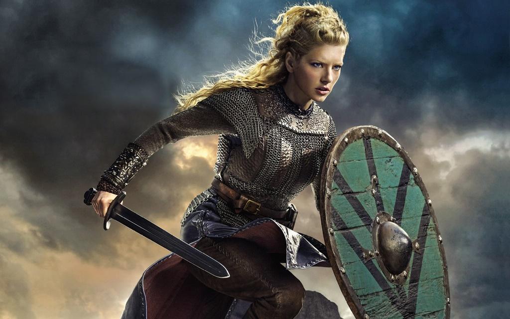 """Зірка мегапопулярного серіалу """"Вікінги"""" гордиться тим, що вона – українка за походженням"""
