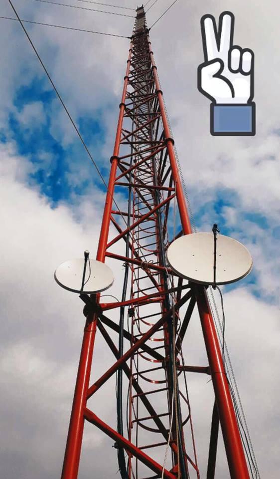 Вежа, встановлена на Чонгарі, розпочала повернення українського телерадіомовлення на територію окупованого Криму