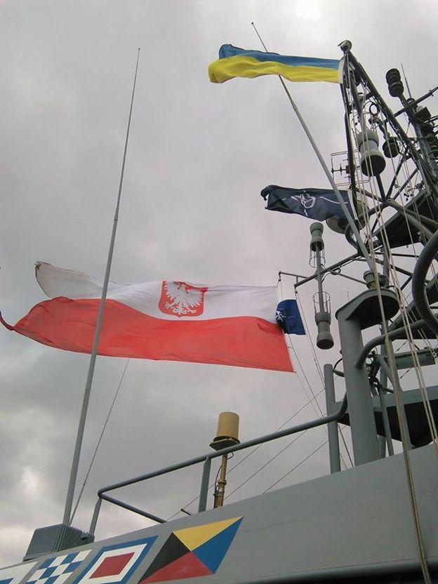 """Українські ВМС разом з кораблями НАТО тренуються """"працювати"""" у Чорному морі"""