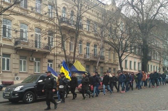 В Одесі провели марш на честь 100-річчя Української революції