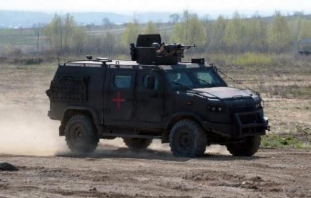 """Бронеавтомобілі """"Козак-5″ вже служать Нацгвардії"""