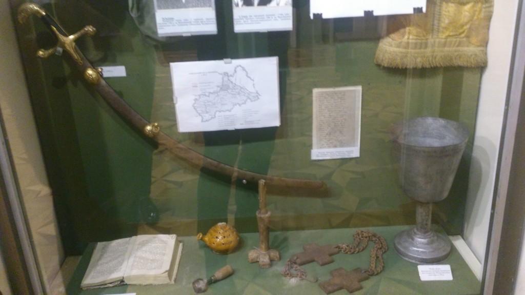 У день чергової річниці Коліївщини у Черкасах можна побачити оригінали гайдамацької зброї і чаші Мотриного монастиря…