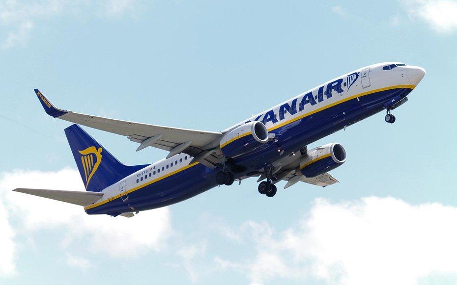 В Україні працюватиме найбільша у Європі лоукост-авіакомпанія Ryanair