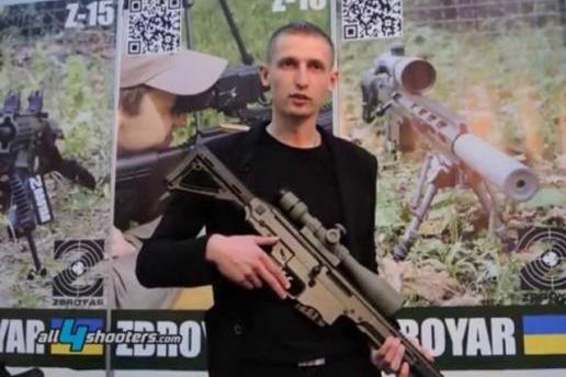 """Європа охоче закуповує українські гвинтівки приватної компанії Zbroyar, """"обкатані"""" у зоні АТО"""