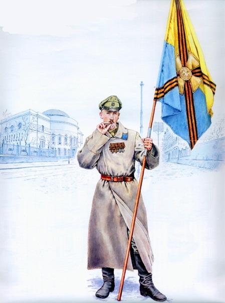 """У бій за Україну – під жовто-блакитним прапором із… """"георгіївськими"""" стрічками"""