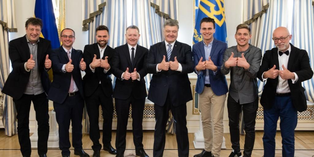 Президент України відзначив ефективну роботу команди з організації «Євробачення-2017»
