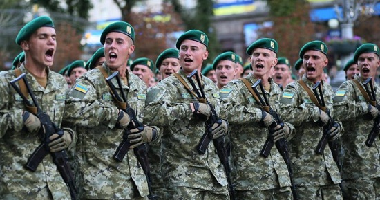 Поруч з українськими військовими на параді у День Незалежності пройдуть і солдати НАТО