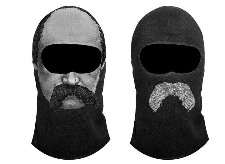 Українські байкери і солдати обзаведуться балаклавами… із зображенням Тараса Шевченка