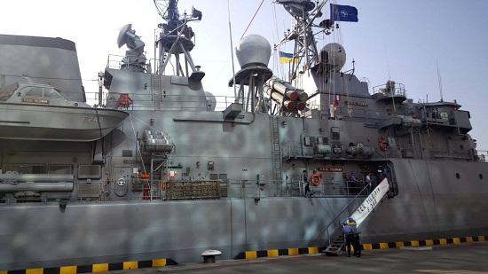 В порт Одеси увійшли есмінець і фрегат НАТО