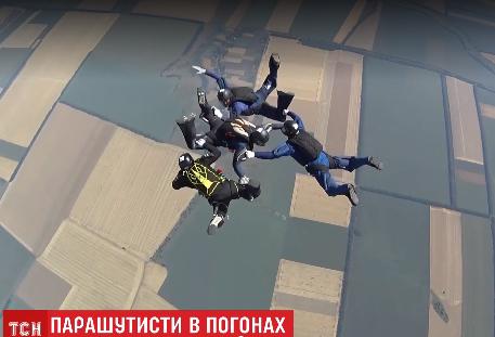 Уперше за 14 років військова збірна українських парашутистів вирушила на чемпіонат світу