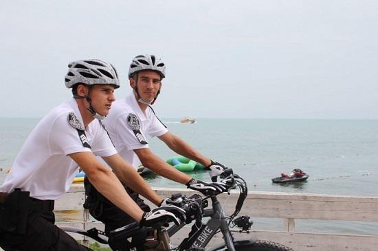 Курортну зону Одеси патрулюватиме велосипедна поліція