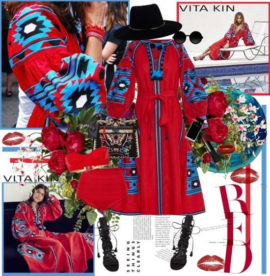 У новому голлівудському фільмі Демі Мур знялася у вишиванці українського бренду Vita Kin