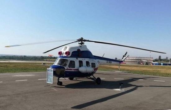 """""""Мотор Січ"""" презентує перший український багатоцільовий вертоліт"""