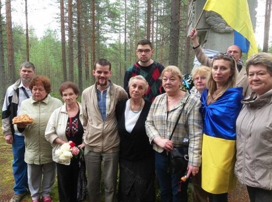 Українці Росії вшанували пам'ять розстріляних в урочищі Сандармох