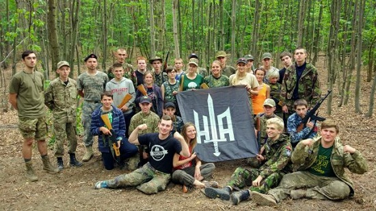 """У військово-патріотичному таборі """"Холодноярщина"""" взяли участь і білоруси"""
