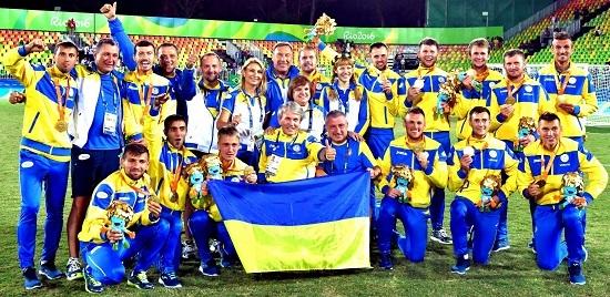 Розгромивши збірні Росії та Ірану, паралімпійська збірна України стала чемпіоном світу з футболу