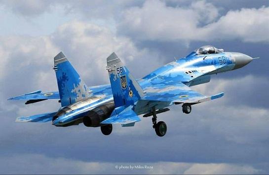 Український ас на винищувачі Су-27 став переможцем міжнародного авіаконкурсу в Чехії
