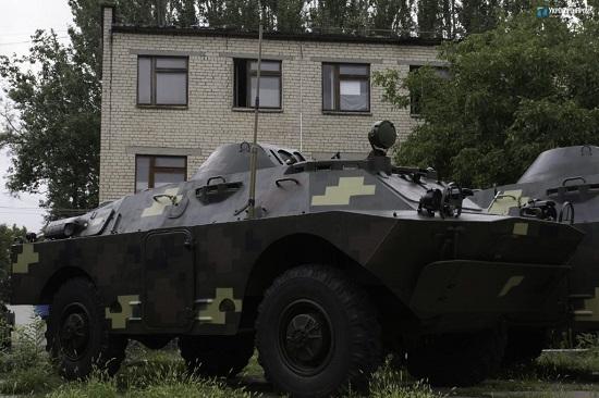 У Миколаєві модернізували чергову партію бронемашин для ЗСУ
