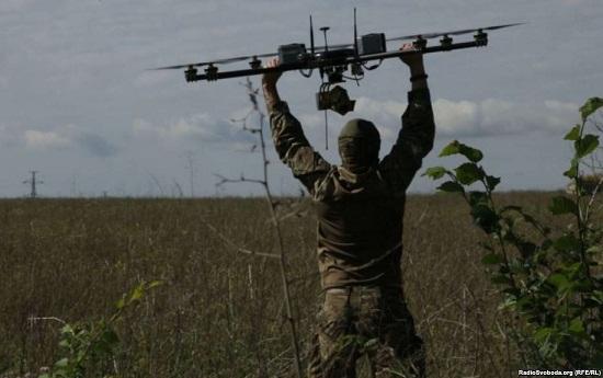 """Аеророзвідка допомогла ЗСУ ефективно """"роздовбати"""" ворога під Новотроїцьким на Донеччині"""