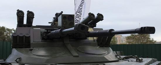 """Український """"Страж"""" розрахований на бойову підтримку танків в умовах вуличних боїв"""