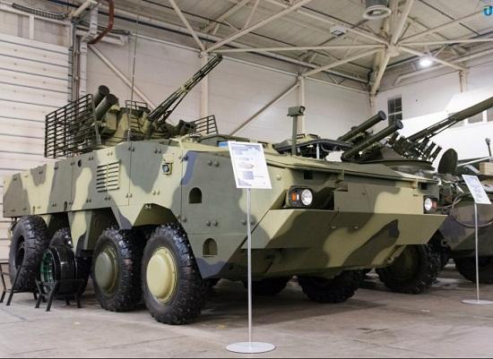 Новий український бронетранспортер відповідає стандартам НАТО і готовий нищити ворога