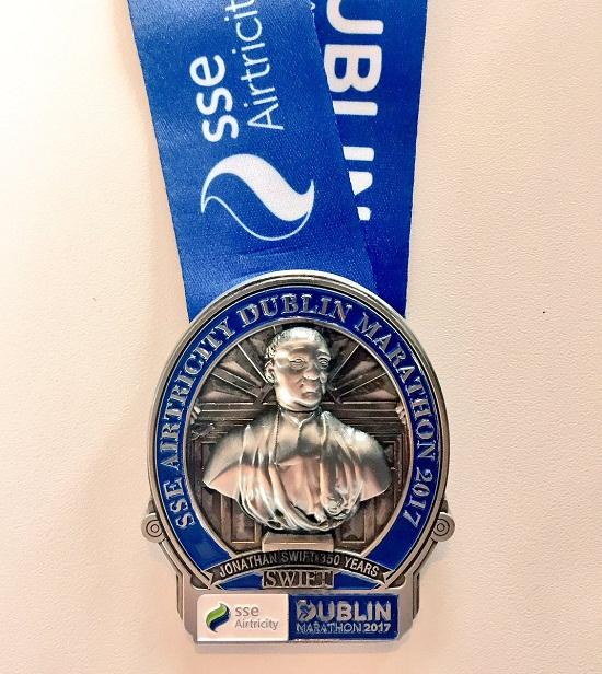 Українські спортсмени успішно виступили на Дублінському марафоні в Ірландії