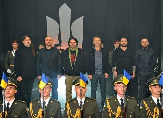 """Українські музиканти презентували кліп на пісню """"Марш нової армії"""""""