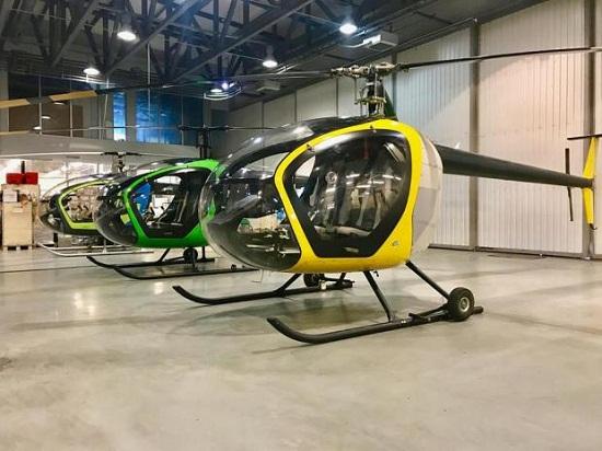 """Мережу """"підірвали"""" фото нових українських багатоцільових гелікоптерів SL-231 Scout"""
