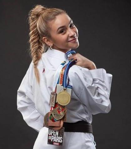 Українка очолила світовий рейтинг по карате