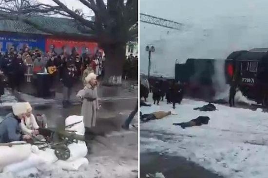 У Смілі на Черкащині реконструктори відтворили бій між вільними козаками і московитами, який був тут 100 років тому