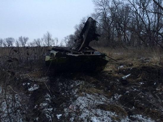 """Тактична група ЗСУ """"Моспіно"""" знищила під Докучаєвськом ворожий БМП"""