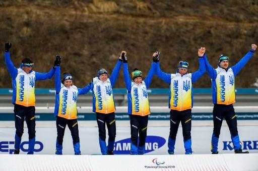 Збірна України повернулася з Паралімпійських ігр у Пхьончхані з 22 медалями