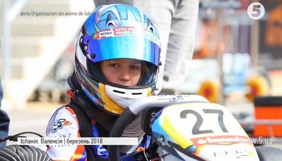 Національний чемпіонат Іспанії з картингу очолив… восьмирічний гонщик з України