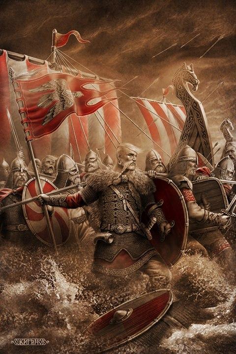 Святослав Хоробрий зріс серед вікінгів – тому і війну любив…