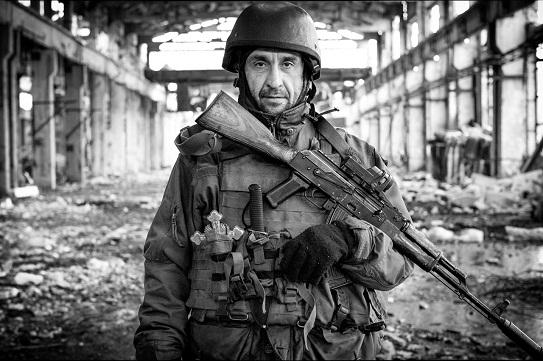 Воїн з Канева на Черкащині став обличчям фотовиставки в італійському Турині