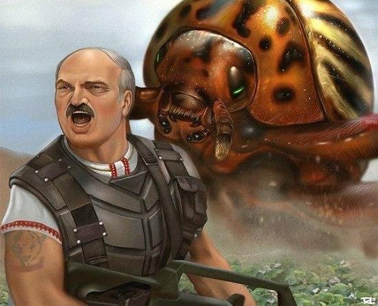 """Російські ЗМІ записали в """"нацисти""""… бацьку Лукашенка і його білорусів"""
