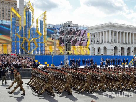 У Києві пройде військовий парад на честь Дня незалежності України