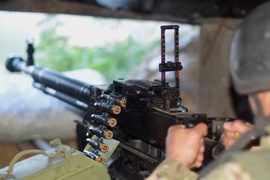 Підсумки ООС за 25 травня: знищено ворожий безпілотник та двох проросійських бойовиків
