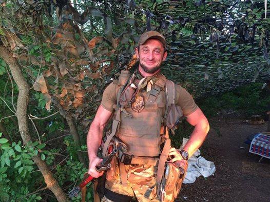 """Колишній охоронець """"Мотороли"""" тепер воює за Україну і радить, як краще звільнити Горлівку"""